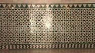 Alcázares Reales de Sevilla Stock Footage