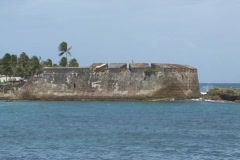 Puerto Rico - Condado: San Geronimo Fort Stock Footage