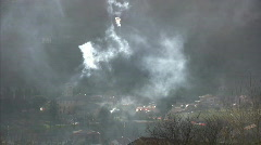 Fire in Italy Stock Footage