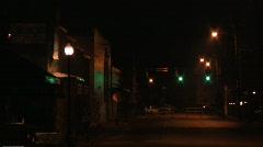 Street Shot - stock footage