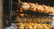 Stock Video Footage of chicken roaster 2