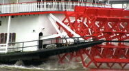 Stock Video Footage of  Paddle Steamer, New Orleans USA