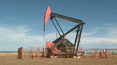 Oil pump Stock Footage