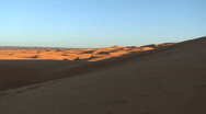 Stock Video Footage of Sahara Desert Pan with Camels