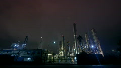 Industrial Plant - stock footage