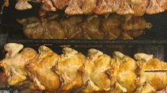 Chicken roaster 5 Stock Footage