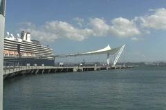 Puerto Rico - San Juan: The Gistro Pier 2 Stock Footage