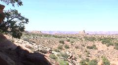 Aztec Butte granary 6 - stock footage