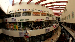 The Dizengoff Center shopping mall in the heart of Tel Aviv, Israel Stock Footage