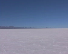 Salar de Uyuni in Potosi  Stock Footage