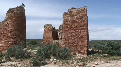Castle Ruins 4 Stock Footage