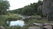 Palisades State Park water Stock Footage