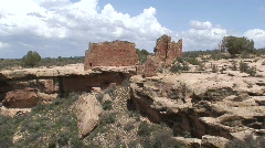 Castle Ruins 6 Stock Footage