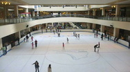 Busy Mall Real Time Stock Footage