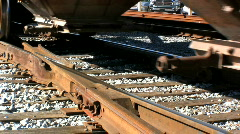 Freight Wagons, entering New Orleans USA  Stock Footage