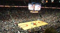 NBA Basketball Game 2 Shooting Series - stock footage