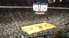 NBA Basketball Game Time Lapse Stock Footage