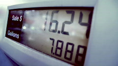 Pumping Gas 1524 - stock footage