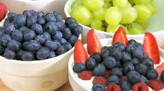 Healthy Morning Eating Stock Footage