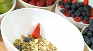 Stock Video Footage of Healthy Lifestyle Breakfast