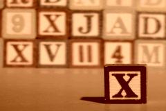 Alphabet blocks TAX V2 - NTSC Stock Footage