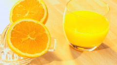 Breakfast Vitamins Stock Footage