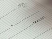 Writing a check V3 - NTSC Stock Footage