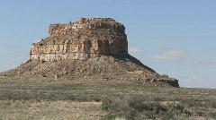 Fajada Butte 2 - Chaco Canyon Stock Footage