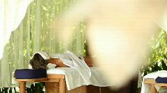 Hidden massage Stock Footage
