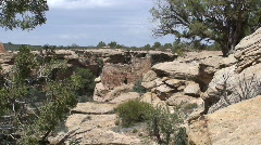 House Ruin 1 - Hovenweep Stock Footage