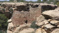 House Ruin 2 - Hovenweep Stock Footage