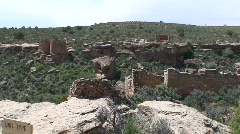 Hovenweep Ruins 1 Stock Footage