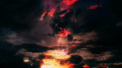 Smoky Clouds - stock footage
