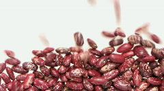 Red beans 2 Stock Footage