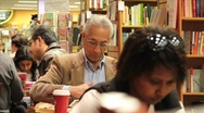 Bookstore Coffee Shop (editorial) Stock Footage