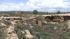 Hovenweep Ruins 3 Stock Footage