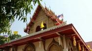Buddhist Temple Stock Footage