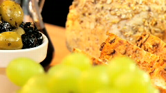 Modern Healthy Lifestyle Lunch Stock Footage