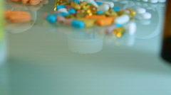 Pills - 30 fps Stock Footage