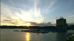 Coeur d'Alene Lakeside Resort 6 - stock footage