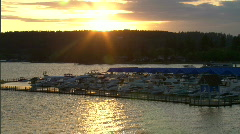 Coeur d'Alene Lakeside Resort 7 Stock Footage