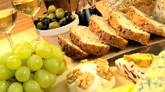 Modern Healthy Lifestyle Food Stock Footage