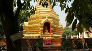 Chiang Mai Temple Stock Footage