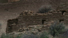 Hungo Pavi 2 - Chaco Canyon Stock Footage