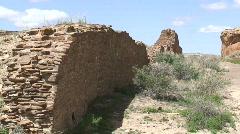 Hungo Pavi 3 - Chaco Canyon - stock footage