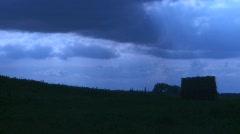 Moody Time Lapse Prairie Sky - stock footage