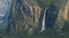Yosemite Waterfall - Bridalveil Fall Stock Footage