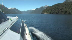 Lake Nahuel Huapi in Argentina Stock Footage