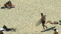 BONDI BEACH VIDEO 12 Stock Footage