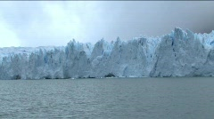 Iceberg in Paradise Bay, Antarctica - stock footage